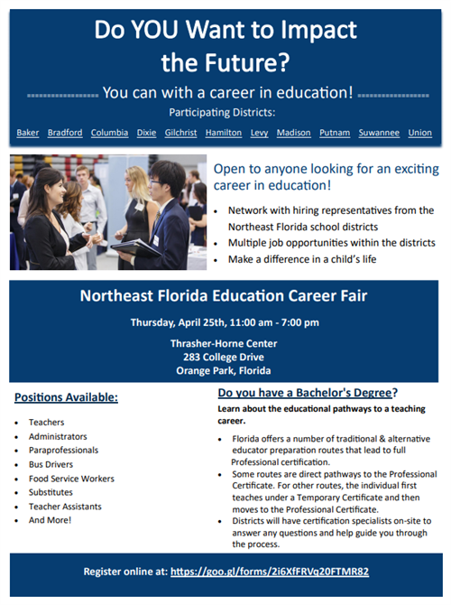 NEFEC Career Fair